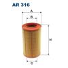 Filtron levegőszűrő AR316 1db