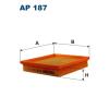 Filtron levegőszűrő AP187 1db
