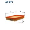 Filtron levegőszűrő AP071 1db