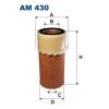 Filtron levegőszűrő AM430 1db