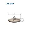 Filtron levegőszűrő AK340 1db