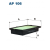 Filtron levegőszűrő AP106 1db