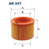 Filtron levegőszűrő AR247 1db