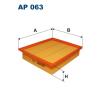 Filtron levegőszűrő AP063 1db
