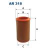 Filtron levegőszűrő AR318 1db
