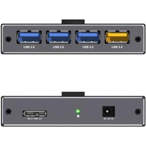 RaidSonic ICY BOX 4 portos HUB  (USB charge port 5 V, 2.4 A) IB-AC611