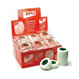 "APLI Ragasztószalag, írható, 19 mm x 33 m, APLI ""Invis"