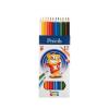 """ICO Színes ceruza készlet, ICO """"Creative Kids"""", 12 kü"""