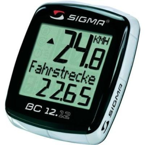 Sigma Kerékpár komputer, SIGMA BC 12.12