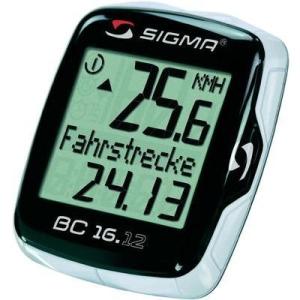 Sigma Kerékpár komputer, SIGMA BC 16.12