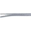 LappKabel Hangszórókábel, Speaker Flattwin 2 x 4 mm² átlátszó, méteráru, LappKabel