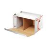 ESSELTE Archiváló konténer, karton, előre nyíló, ESSELTE