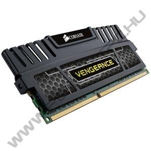 Corsair (CMZ16GX3M4X1866C9) 16GB Kit (4x4GB) DDR3, 1866MHz, 9-10-9-27 Vengeance Profile - 1.5V - Quad Channel