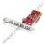 Conceptronic C480I5 USB2.0 bővítőkártya, 4+1port, PCI