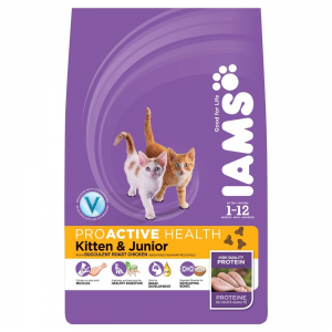IAMS Cat Kitten & Junior Chicken (10kg)