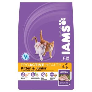 IAMS Cat Kitten & Junior Chicken (2.55kg)