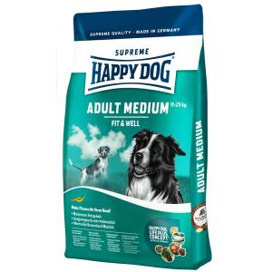 Happy Dog Supreme Fit & Well Adult Medium (4kg)