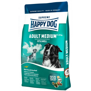 Happy Dog Supreme Fit & Well Adult Medium (12.5kg)