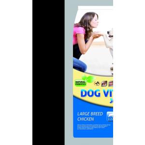 DOG VITAL Junior Large Breed Chicken (12kg)