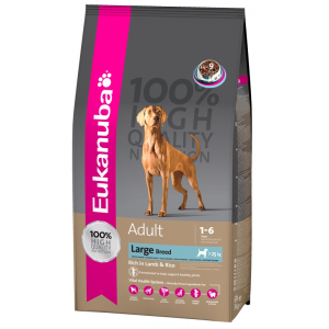 Eukanuba Adult Large Breed rich in Lamb & Rice (2.5kg)