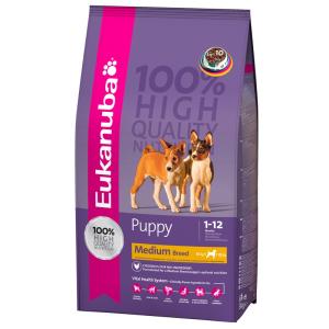 Eukanuba Puppy Medium Breed (9kg)