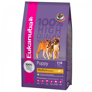 Eukanuba Puppy Medium Breed (3kg)