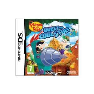Phineas & Ferb: Quest for Cool Stuff - NDS