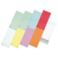 DONAU Elválasztócsík, karton, DONAU, vegyes színek (100 regiszter és tartozékai