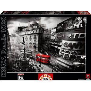 Educa Educa 1000 db-os Black & White puzzle - Piccadilly Circus (15981)