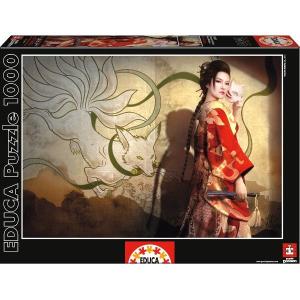 Educa Educa 1000 db-os puzzle - Tamamo No Mae - Mario Wibisono (15991)