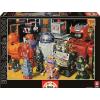 Educa Educa 1000 db-os puzzle - Robotok (15979)