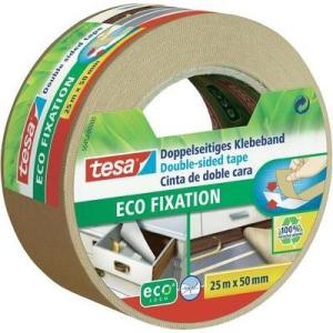 Kétoldalas ragasztószalag, tesa® ECO FIXATION (H x Sz) 25 m x 50 mm műanyag 56452 TESA Tartalom: 1 tekercs