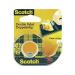 Kétoldalas ragasztószalag, Scotch® (H x Sz) 7.9 m x 12 mm Átlátszó 665DP 3M Tartalom: 1 tekercs