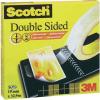 Kétoldalas ragasztószalag, Scotch® (H x Sz) 22.8 m x 12.7 mm Átlátszó D6651222 3M Tartalom: 1 tekercs