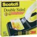 Kétoldalas ragasztószalag, Scotch® (H x Sz) 33 m x 19 mm Átlátszó D6661933 3M Tartalom: 1 tekercs