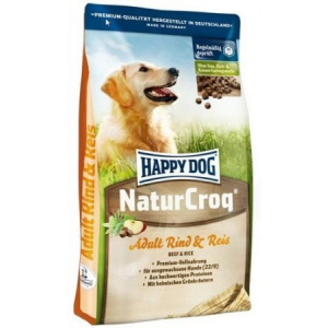 Happy Dog NaturCroq Adult Rind & Reis 15 kg-os