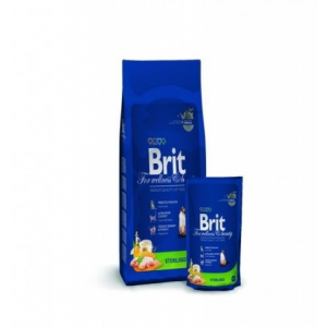 Brit Premium Cat Sterilised 8 kg-os