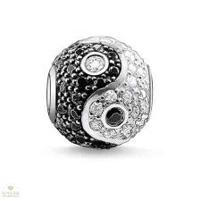 Thomas Sabo Karma Beads Thomas Sabo Yin&Yang pavé gyöngy - K0070-051-18 gyöngy