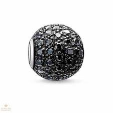 Thomas Sabo Karma Beads Thomas Sabo Fekete pavé gyöngy - K0029-051-11 gyöngy