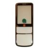 Nokia 6700 classic matt előlap ezüst orange logos
