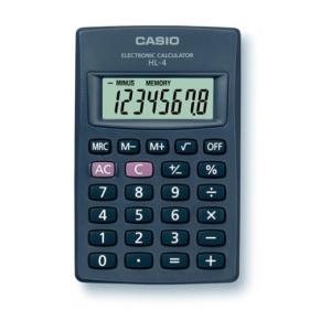 """Casio """"HL-4T"""" Zsebszámológép"""
