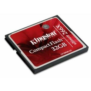 Kingston 32GB Compact Flash Ultimate 266x (CF/32GB-U2) memória kártya