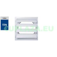 Gravitációs zsalu, T90, műanyag, 220 x 340 mm barkácsolás, csiszolás, rögzítés