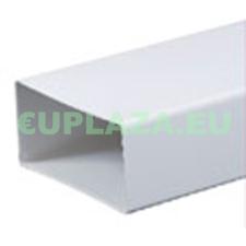 Légcsatorna, KP75-10, szögletes keresztmetszetű, műanyag, 75 x 150 x 1000 mm barkácsolás, csiszolás, rögzítés