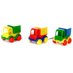 Wader Wader: Konténeres teherautó fiús színekben