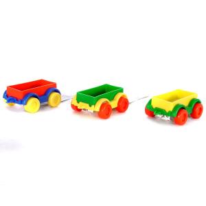 Wader Wader: Teherszállító vonatkocsi fiús színekben