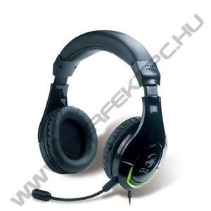 Genius HS-G600 Mikrofonos Vibrációs Gamer fejlhallgató (Xbox, PS kompatibilis)