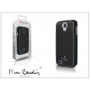 Pierre Cardin Samsung i9190 Galaxy S4 Mini alumínium hátlap - black