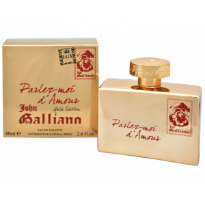 John Galliano Parlez-Moi d'Amour Gold EDT 80 ml