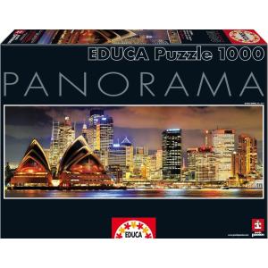 Educa Educa 1000 db-os Szuper Panoráma puzzle - Sydney éjszaka (15994)